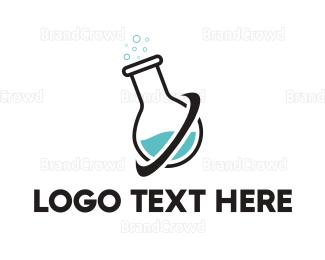 Pharmaceutic - Lab Tube logo design
