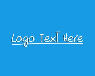Study - Handwritten Study Wordmark logo design
