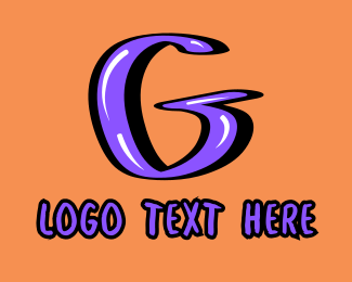 Street Artist - Graphic Letter G logo design