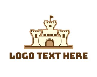 Airbnb - Sandcastle logo design