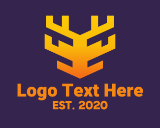 Digital - Digital Tech Animal logo design