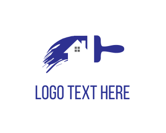 Residence - House Painting logo design