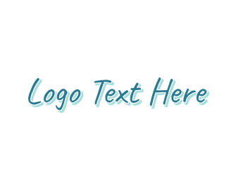Casual - Blue Casual logo design