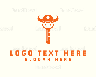 Key - Viking Key logo design