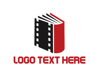 Cinematography - Film Book logo design