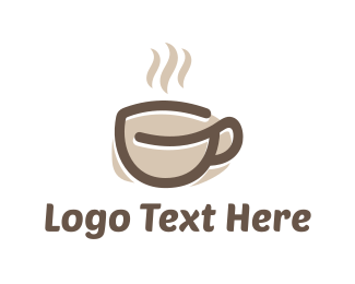 Tea - Coffee Cup logo design