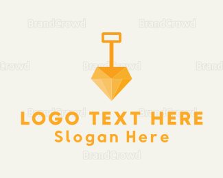 Mining - Diamond Dig logo design