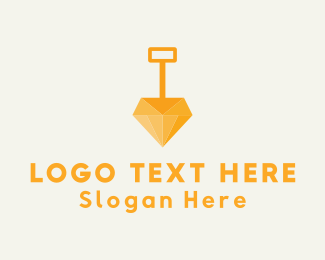 Dig - Diamond Dig logo design