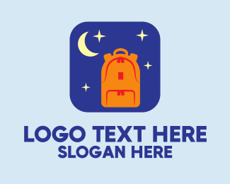 """Moon Backpack Mobile App"" by FishDesigns61025"