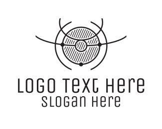 Science - Planetary Science logo design