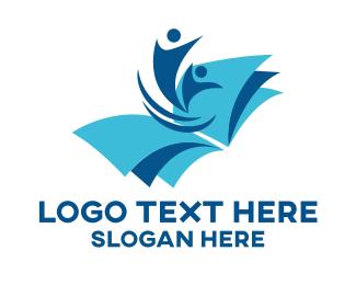 Bookstore - Book People logo design