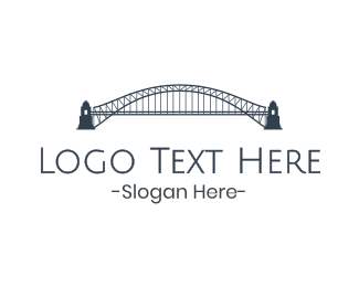 Marina - Gray Harbour Bridge  logo design