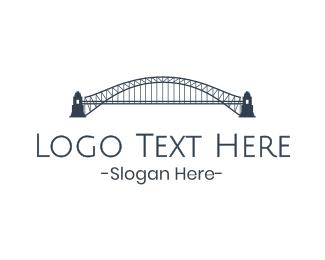 Truss - Gray Harbour Bridge logo design