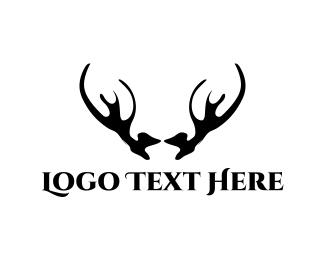 Hunter - Black Horns logo design