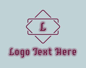 Fashion - Purple Fashion Studio Letter logo design