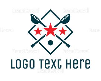 Crosse - Lacrosse Sport Shield logo design