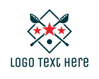 Sports - Lacrosse Sport Shield logo design