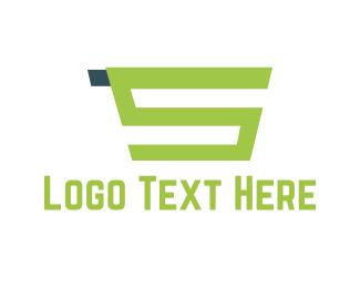 Cart - Green Shopping Cart  logo design