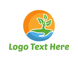 Stem - Little Plant logo design