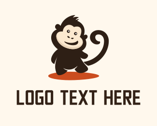 Monkey - Happy Monkey logo design