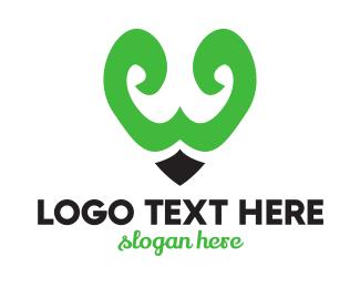 Calligraphy - Elegant W Pen Tip logo design