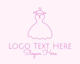 Fashion - Simple Fashion Dress logo design
