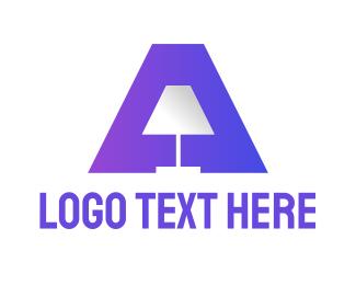 Appliances - Gradient Lamp A logo design