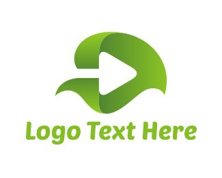 Audio - Leaf Play logo design