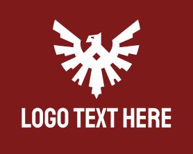 Authority - Esports Eagle Badge logo design