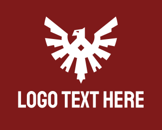 Esports - Esports Eagle Badge logo design
