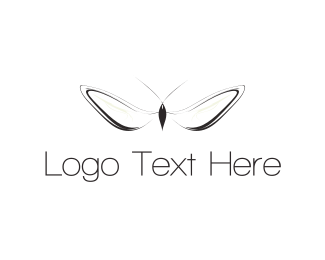 Bug - White Insect  logo design