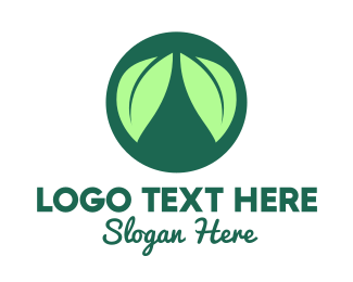 Lungs - Green Leaf Lungs logo design