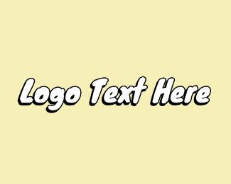 Text - Beachy Text Font logo design