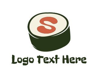 Sashimi - Sushi Letter S logo design