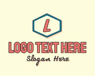 70s - Retro Summer Signage Lettermark logo design