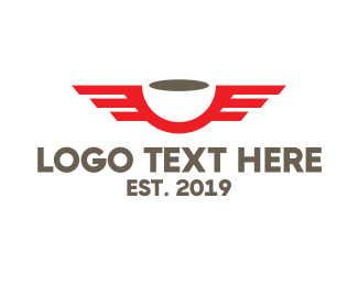 Airline - Red Wing Coffee logo design