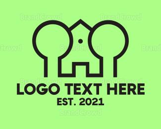 Broker - Castle House logo design
