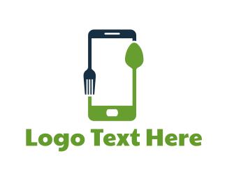 Eat - Food Application logo design