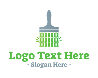 Paint - Bamboo Paint logo design