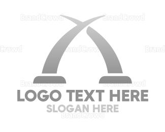 Gate - Mombasa Arch logo design