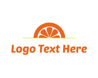 Sunset - Orange Sunset logo design