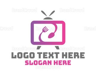 Dietitian - Food Blog Media App logo design