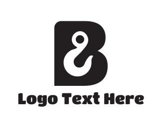 Hook - Hook Letter B logo design