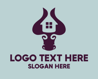 Matador - Bull Housing logo design