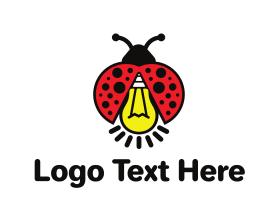 Light - Bug Light logo design