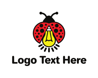 Think Tank - Bug Light logo design