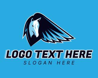 Video Game - Pegasus Gaming logo design