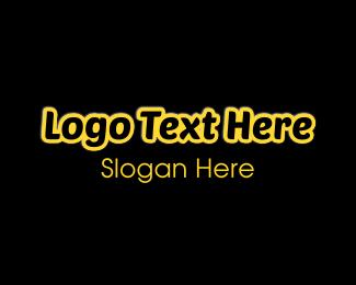 Casual - Black & Yellow logo design