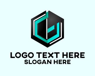 Technology - 3D Company Letter G logo design