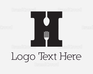 """Letter H Cutlery"" by Greedin"